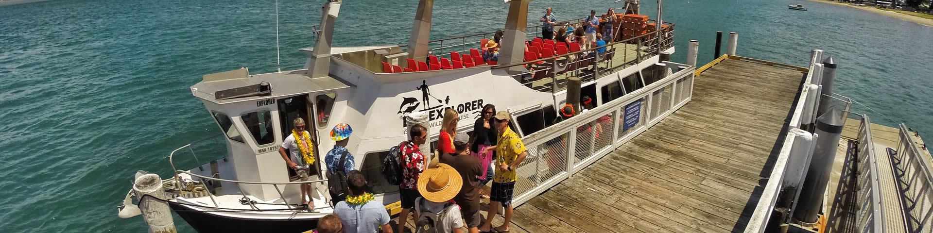 The Bay Explorer, Tauranga's favourite boat